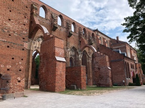 Tartu's old cathedral, in ruins since 16th century
